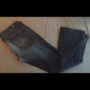 7 for All Mankind, A Pocket bootcut jeans.
